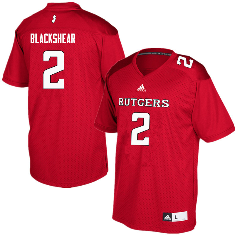 Men #2 Raheem Blackshear Rutgers Scarlet Knights College Football Jerseys Sale-Red