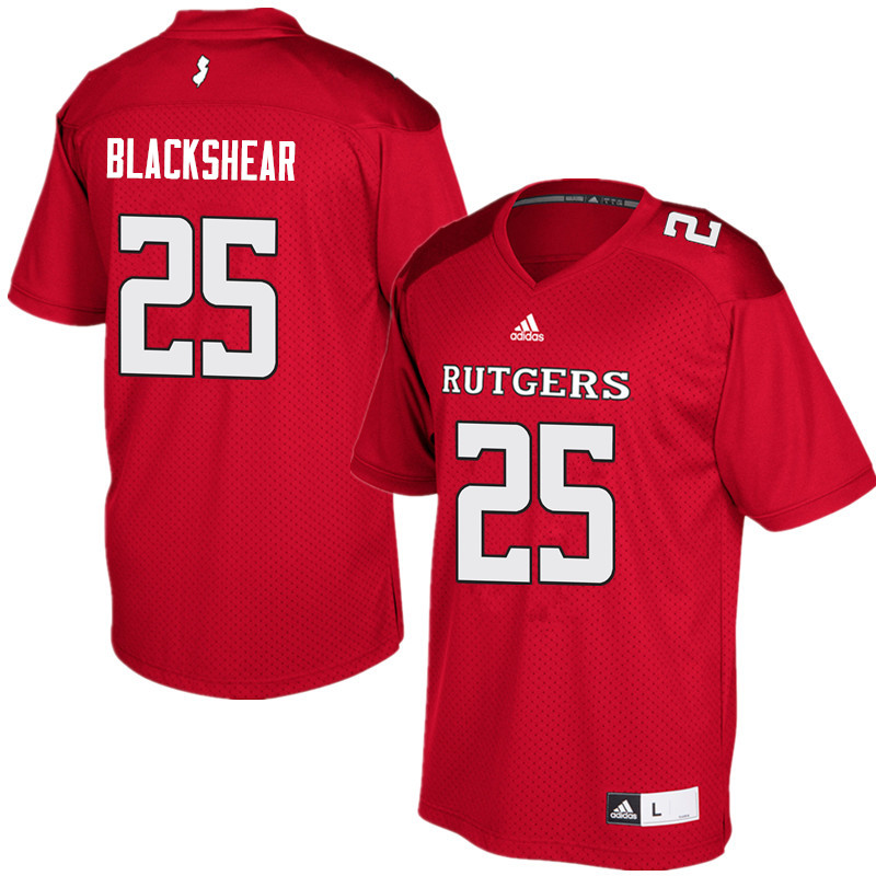 Men #25 Raheem Blackshear Rutgers Scarlet Knights College Football Jerseys Sale-Red